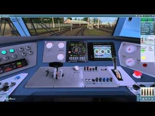 Запуск ЭП1М в игре TrainZ Simulator 2012