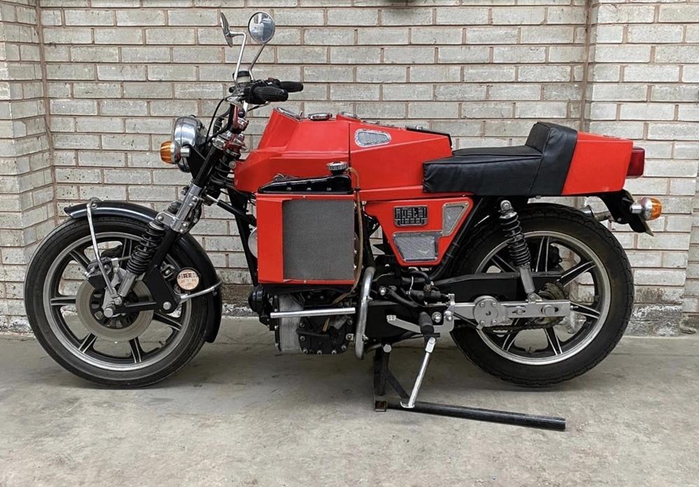 Austel Lotec MK II - мотоцикл с 998-кубовым мотором Mini