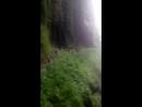 Восточная Абхазия город герой Ткуарчал водопад Адау Великан высота 100 метров
