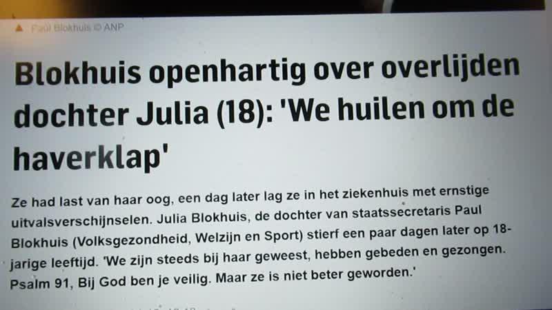 Is Julia Blokhuis geofferd op het altaar van de NWO?