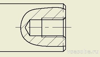 autodesk inventor местный разрез