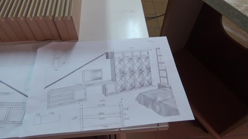 Процес изготовления рамочных фасадов 2 этап.