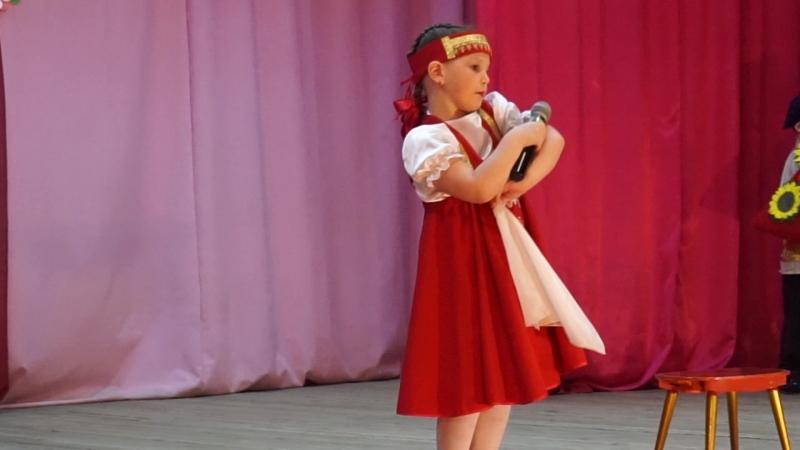 Городской конкурс Подари улыбку миру. Полина и Матвей с песней Семечки.