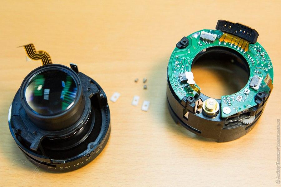 ремонт Canon 50 mm F1.4 USM объектив