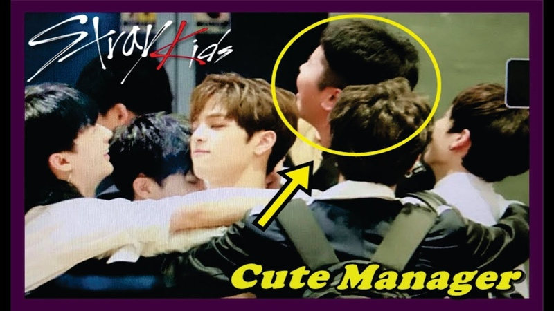 Stray Kids Cute Manager Moments