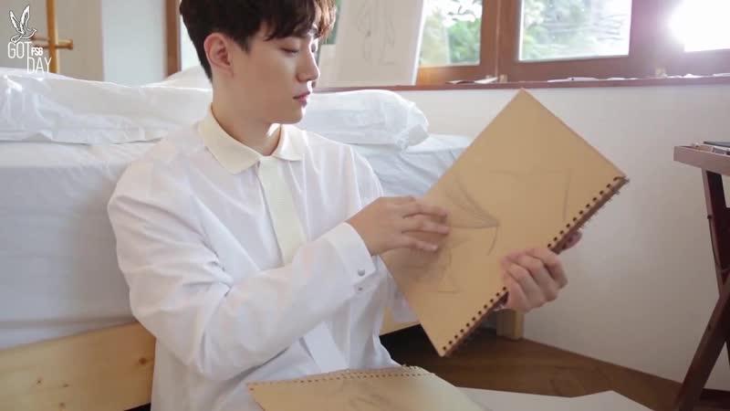 On Air 2PM - Незабываемый день с художником Хо! (русс. саб)