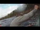 Горная река Мста. Великий Новгород. Май 2012. Оверкиль на большом пороге