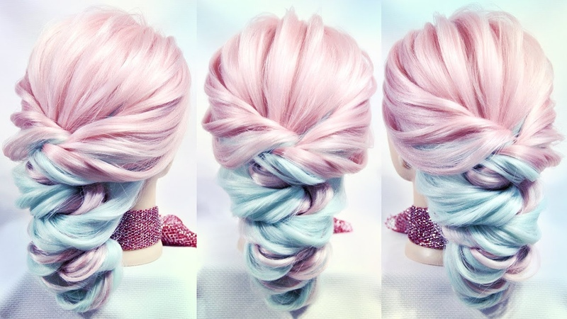 Simple and easy hairstyle | Very beautifu! l Hairstyles by REM | Copyright ©
