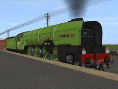 LNER Cartazzi Axle - Polished tyres