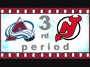 NHL 2018―2019. REGULAR SEASON. 18 ОКТЯБРЯ 2018. COLORADO AVALANCHE VS NEW JERSEY DEVILS 3―RD PERIOD