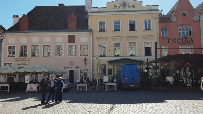 Ратушная площадь. Таллин