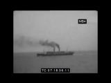 Aboard the RMS Olympic 'en route' for America