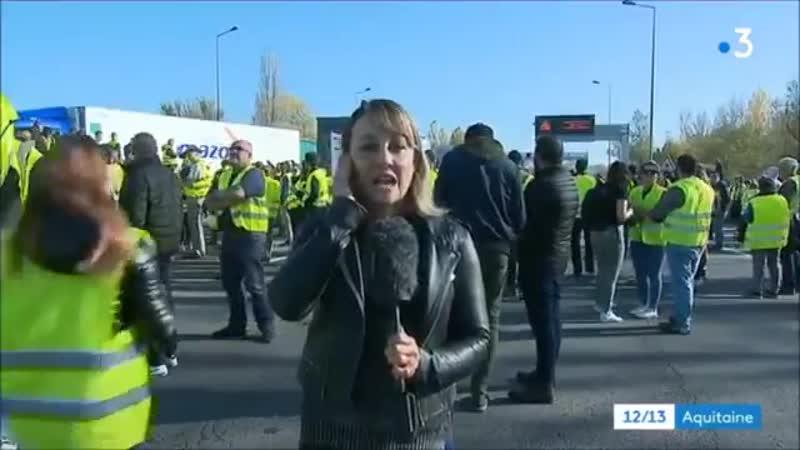 Une journaliste de France 3 coupée en direct alors qu'elle impute la totalité des tensions à la police смотреть онлайн без регистрации