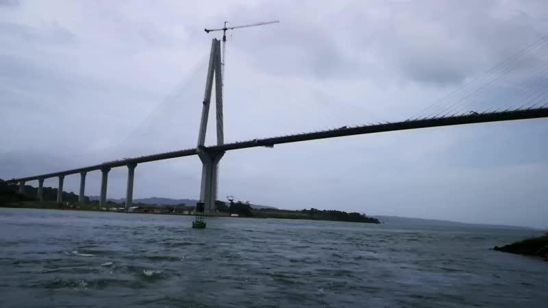 Панамский канал Мост для Лайнерав
