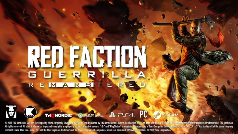 Red Faction Guerrilla Re-Mars-tered Edition - Official Release Trailer