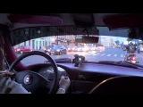 1-2 Ацюковский в Черной молнии по Питеру на Globalwave  - Глобальная Волна