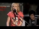 Metric - Poster Of A Girl | 2007 | Live on MySpace (4/15)