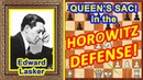 Chess Traps by Edward Lasker! ♔ Horowitz defense opening ♕ Queen Sac!