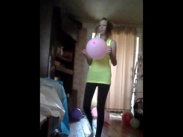 Челлендж попробуй лопнуть шарик