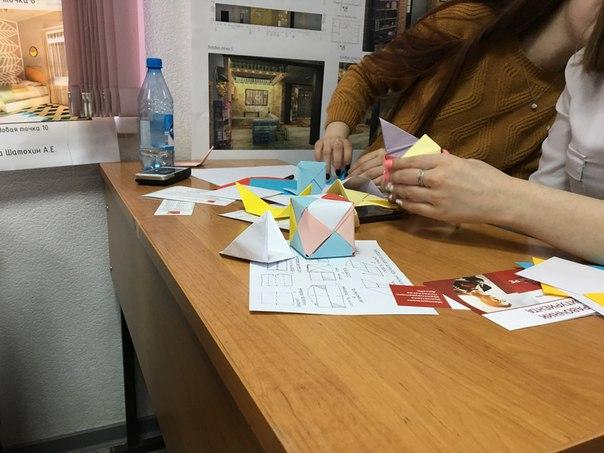 20 апреля в нашем институте состоялся мастер-класс дизайна и творчеств
