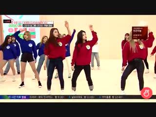 LOONA's Yves, Heejin, Kim Lip and fromis_9's Jiheon dancing to Taemin's MOVE