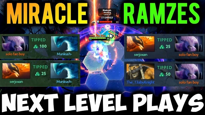 MIRACLE- vs RAMZES666 Epic Comeback - The Next Level Plays