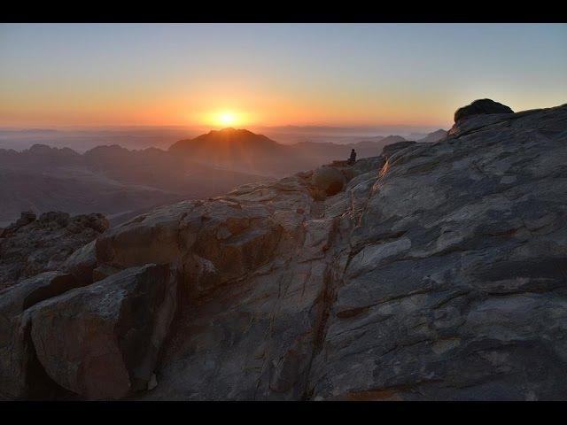 Гора Моисея. Гора Хорив. Гора Синай. Moses Mountain Sinai
