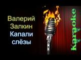Валерий Залкин Капали слёзы ( караоке )
