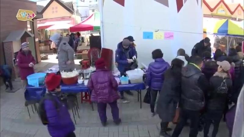 [HOT] 사남일녀 - 전통시장에서도 먹히는 막둥이 우빈, 김재원 질투 20140411 - YouTube