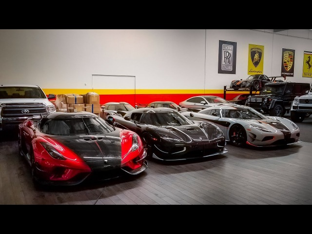 Midnight Rush Delivery: The First US Regera Two Agera RS