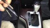 Toyota Fortuner противоугонный механический замок мультилок Фортус на АКПП