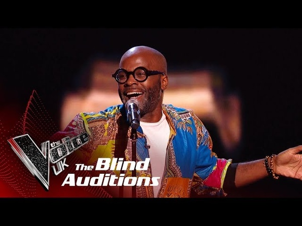 Cedric Neals Higher Ground | Blind Auditions | The Voice UK 2019
