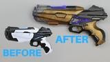 $5 K-mart Space Blaster Makeover- Chris' Custom Collectables!