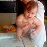 Детский массаж Ростов on Instagram 💫 С Миечкой учимся вставать на ножки Для этого из положения на четвереньках встаем на коленки а дальше на ст