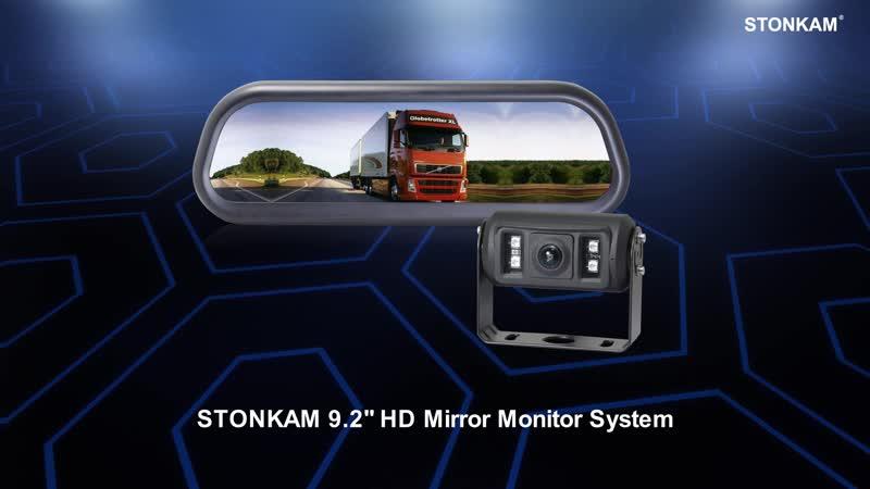 STONKAM® 9 2 дюймовая HD мониторная зеркальная система