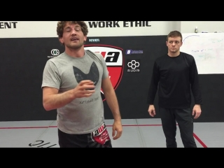 Ben Askren. Ankle pick from Front Head