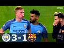 Manchester City vs Barcelona 3 1 UCL 2016 2017 Highlighs English Commentary HD