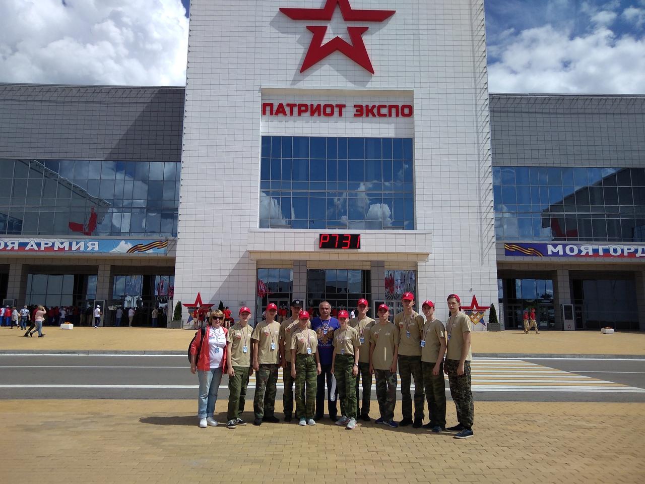 Кадеты из Шадринска успешно выступили в финале Всероссийской военно-спортивной игры «Победа»
