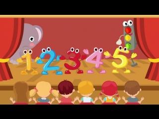СЧЁТ - СИНИЙ ТРАКТОР - Развивающая детская песенка мультик про счет от 1 до 5_mp4 (1280x720)