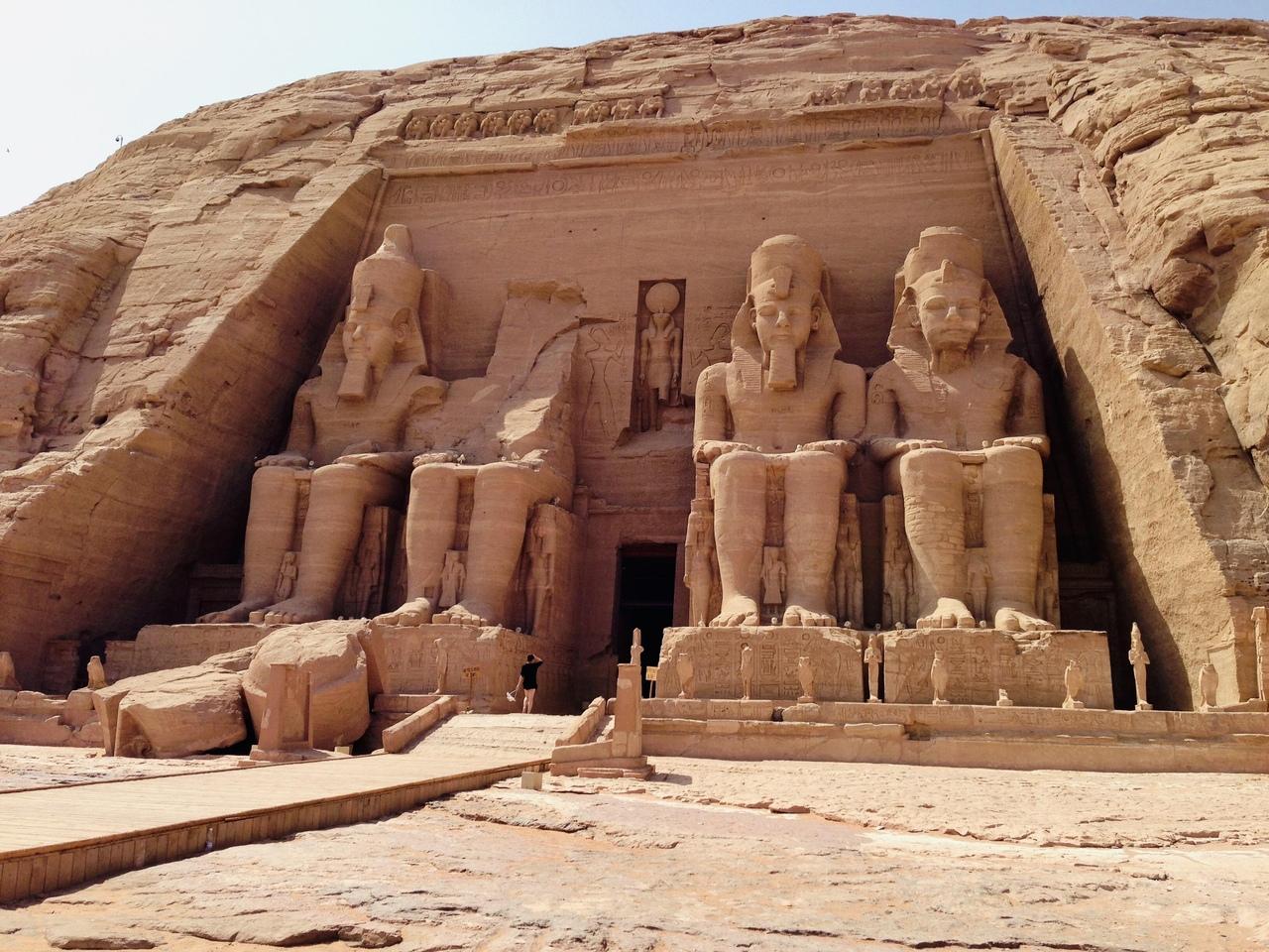 Великий Храм Рамсеса II, Абу-Симбел, Египет