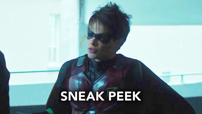 Titans 1x06 Sneak Peek Jason Todd (HD) DC Universe