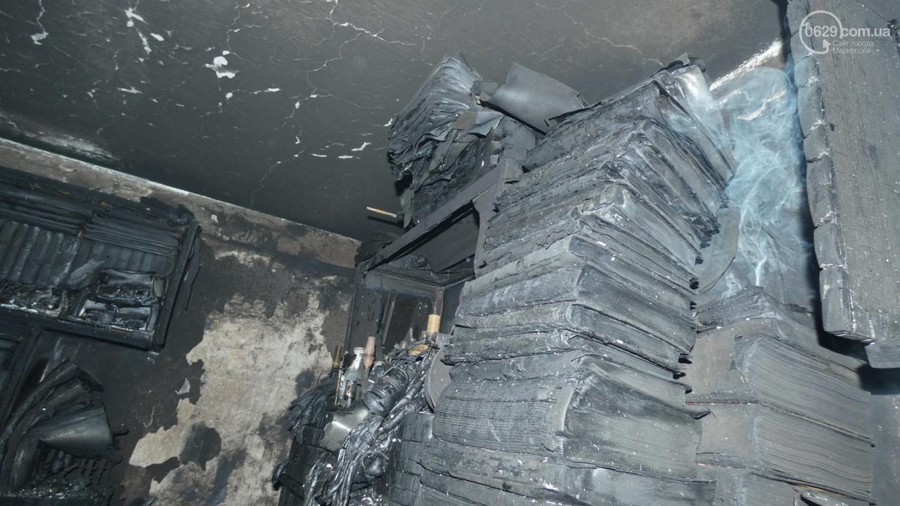 В Мариуполе загорелось студенческое общежитие. Есть жертвы