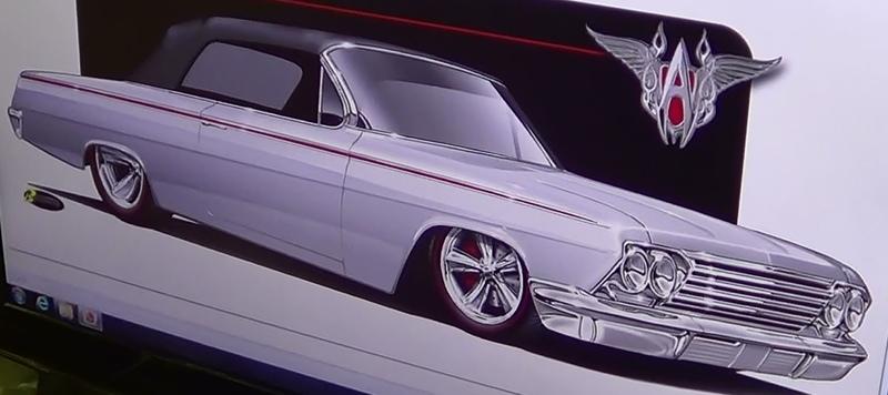 1962 Chevy Impala Bobby Alloway Street Rod