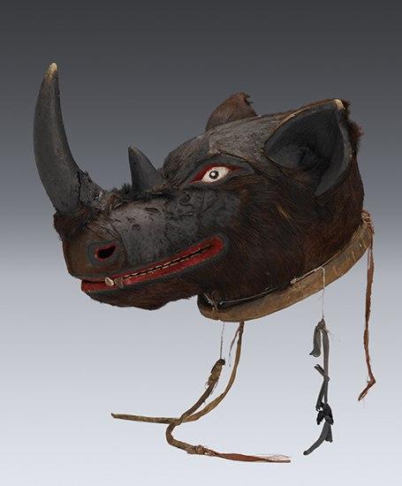 Деревянные маски танзанского племени Маконде XIXв.