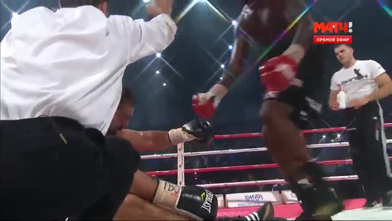 Rakhim Chakhkiev vs Ola Afolabi KO Рахим Чахкиев Ола Афолаби НОКАУТ