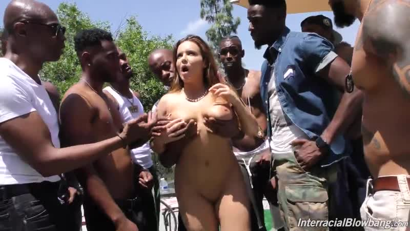 Natasha Nice Interracial Blow Bang Dog Fart HD