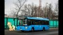 Поездка на автобусе ЛиАЗ 4292 60 Группа ГАЗ № 011183 Маршрут № 720 Москва