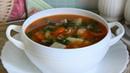 Суп из консервов килька в томате и рисом
