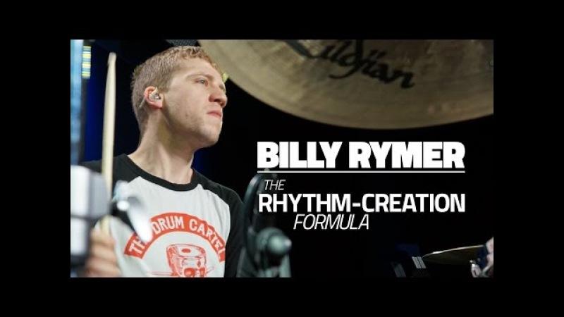 Billy Rymer (The Dillinger Escape Plan) - The Rhythm Creation Formula - Drum Lesson (Drumeo)