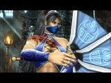 Mortal Kombat 9 - Jade &amp Kitana Tag Team Ladder Gameplay Playthrough